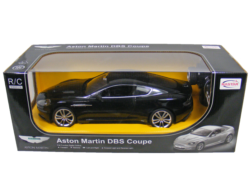 TOYANDMODELSTORE: Remote Control Car Aston Martin DBS Coupe 1/14 Scale  Official RC Model